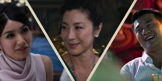 """Based on Kevin Kwan's novel of the same name, """"Crazy Rich Asians"""" tells the story of Rachel Chu (Constance Wu), a smart, young economics professor at New York University who is dating Nick Young (Henry Golding), a man she later learns is essentially the Asian Prince Harry."""
