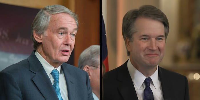 Democrats in Congress argued against Brett Kavanaugh's nomination to the Supreme Court on Tuesday, blasting his record on net neutrality.