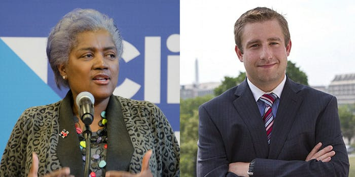 Donna Brazile flatly denied claims by conservative blogger Matt Couch that she was at the same hospital where former DNC Staffer Seth Rich died.