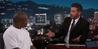 Kanye West Jimmy Kimmel Live Trump