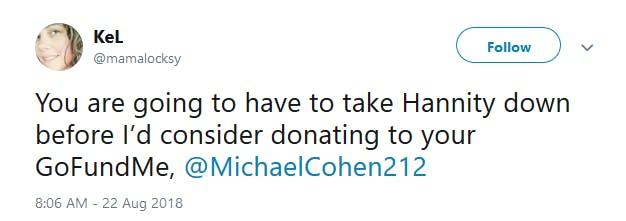 Michael Cohen GoFundMe