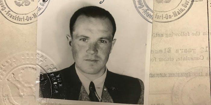 Palij US visa photo 1949