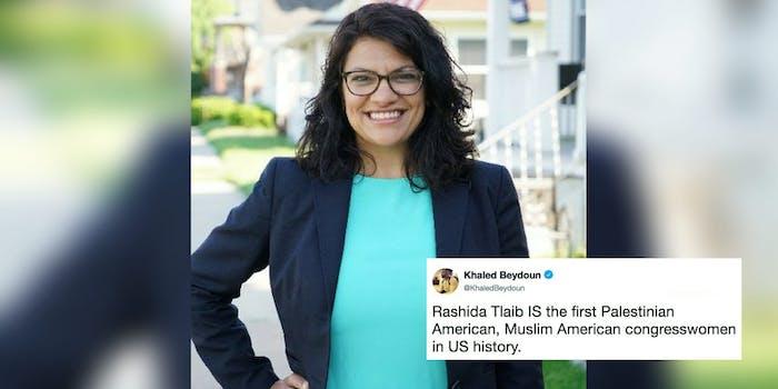 Rashida Tlaib won a Democratic Michigan House primary.