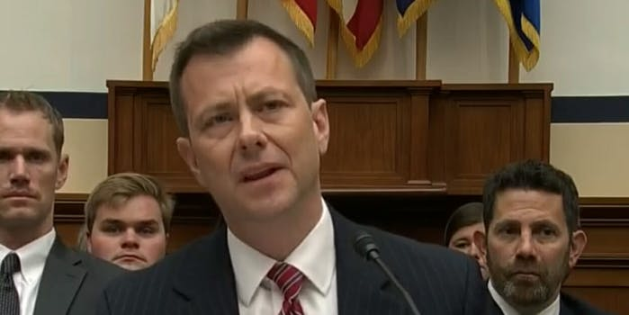 A GoFundMe was set up to help pay for the 'considerable legal bills' for recently-fired FBI agent Peter Strzok a frequent target of President Donald Trump.