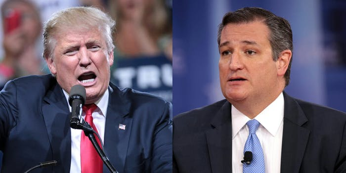 President Donald Trump said on Friday that he will host a 'major rally' for Sen. Ted Cruz (R-Tx.) in October–but several of the president's mocking tweets about the senator from the 2016 presidential campaign have popped up since his announcement.