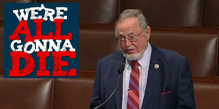 We're All Gonna Die Episode 58 Don Young Net Neutrality Alaska