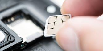 sim card attack - changing sim card in phone