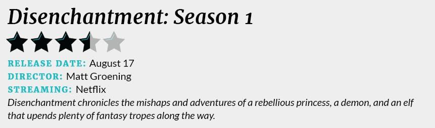 disenchantment season 1 review