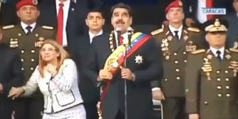 drone attack Venezuela president