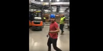 factory walk out