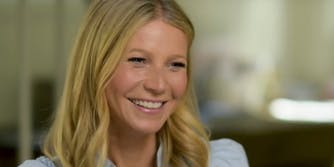 Gwyneth Paltrow had the best response to this meme that accused her of 'thinking about d*ck.'