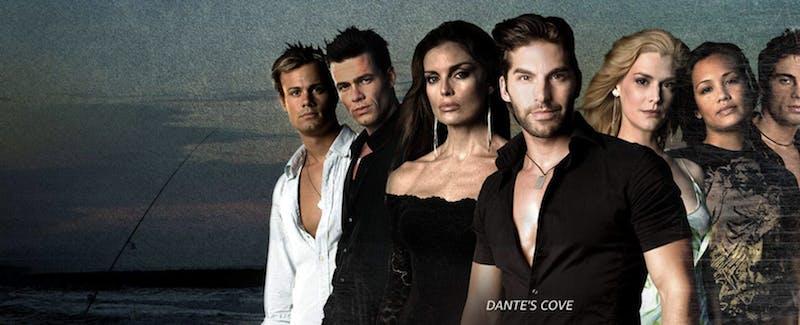 The cast of the show Dante's Cove
