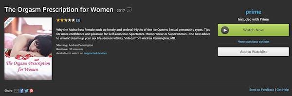 Porn on Apple TV with Amazon Prime