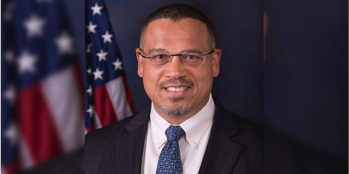 U.S. Representative Keith Ellison from Minnesota.