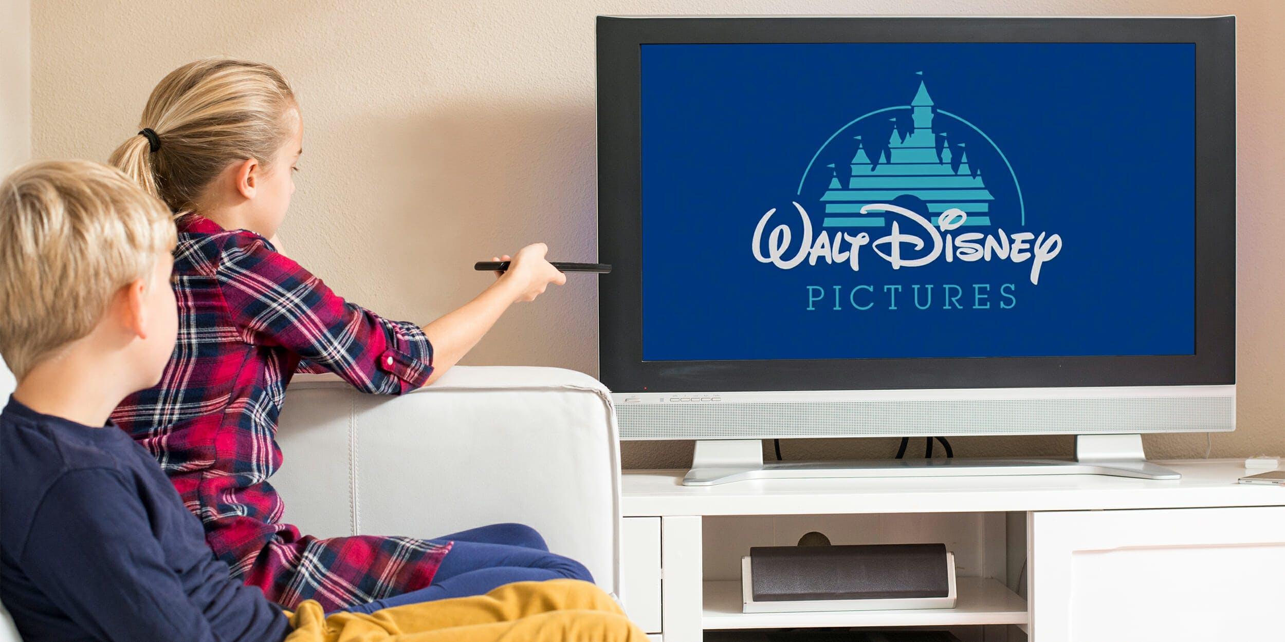 disney streaming service kids watching walt disney pictures