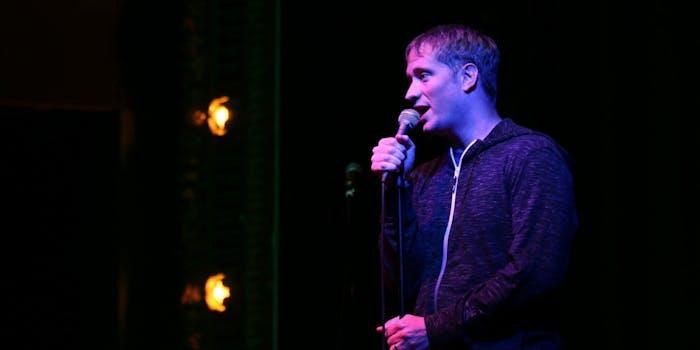 mark chalifoux on stage