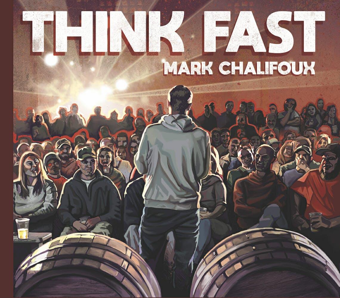 mark chalifoux think fast album cover