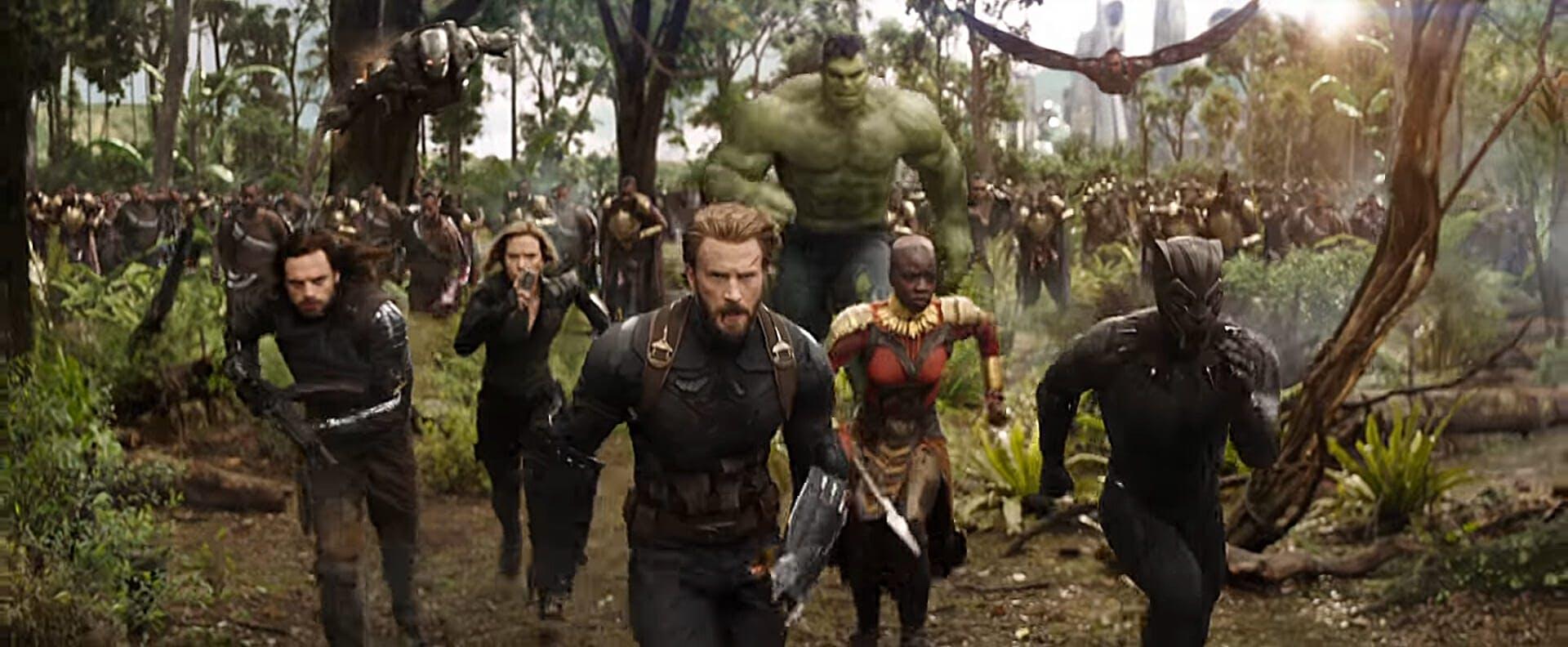 mcu phase 4 Infinity War jungle battle