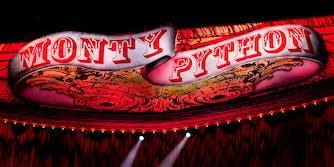 Monty Python banner