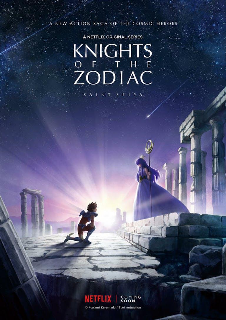 netflix original anime - knights of the zodiac