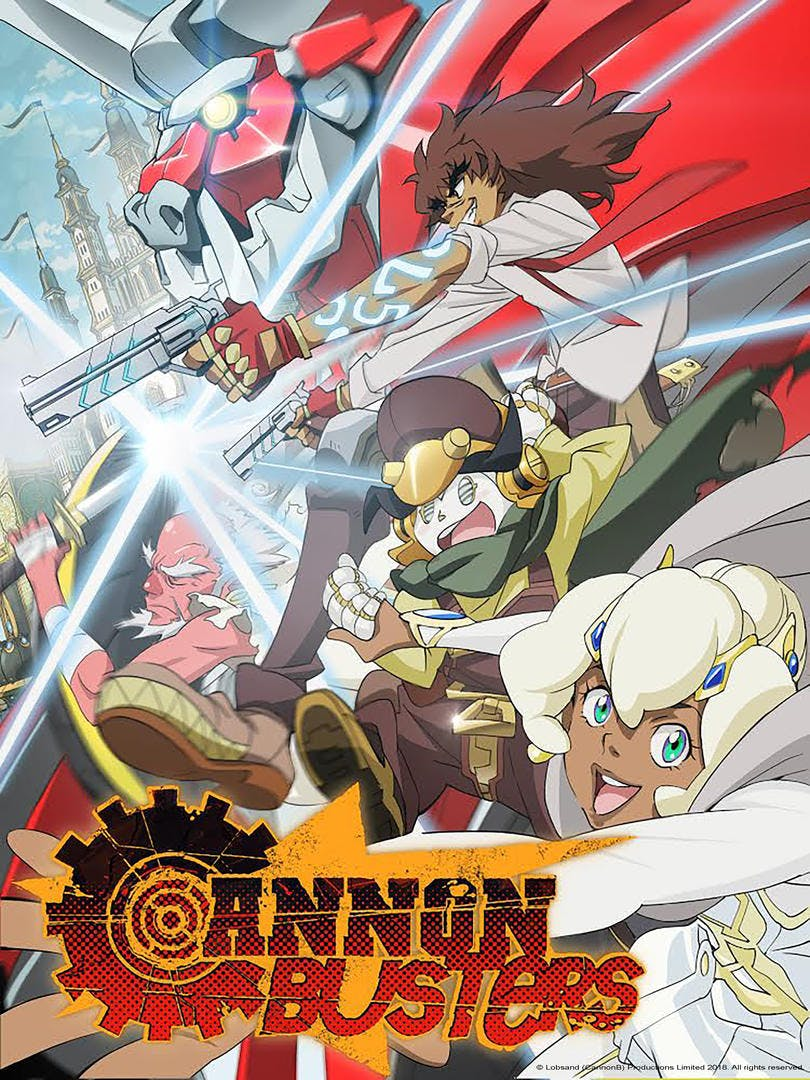 new anime on netflix - cannon busters