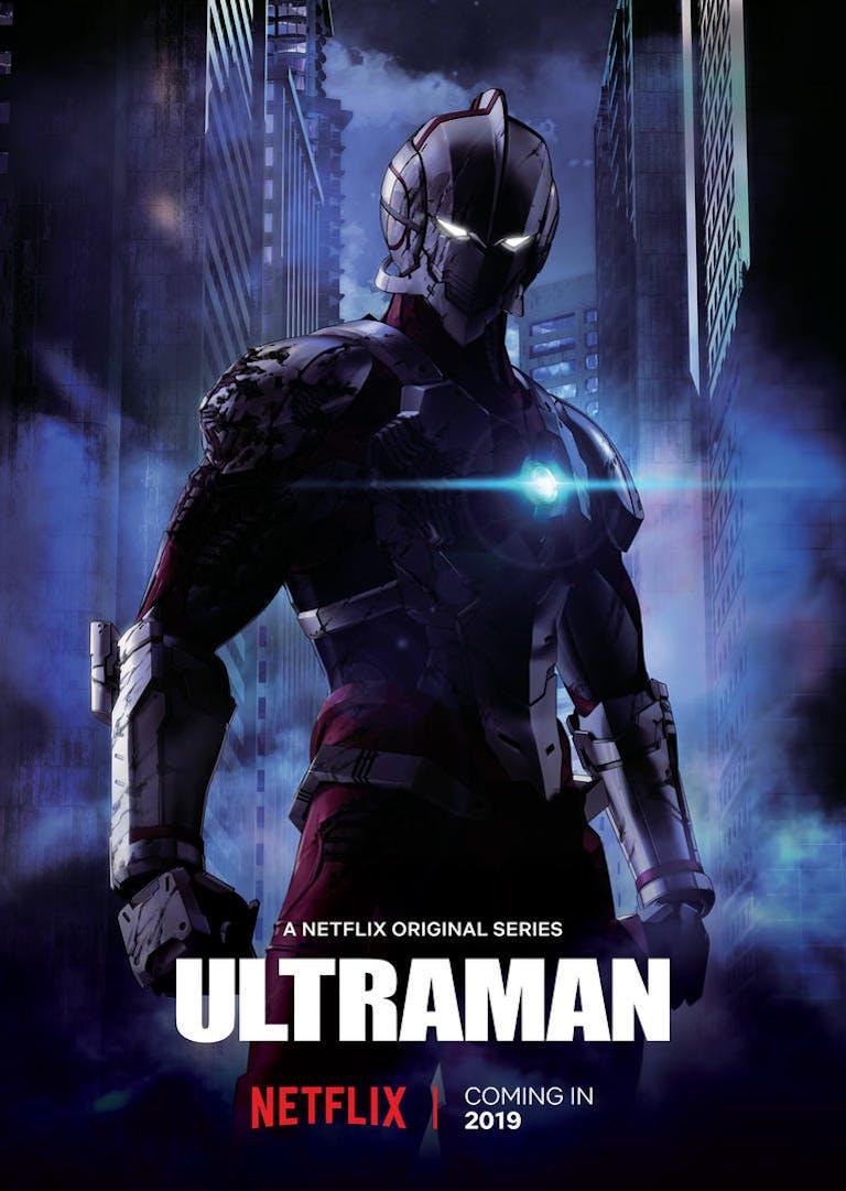 new anime on netflix - ultraman