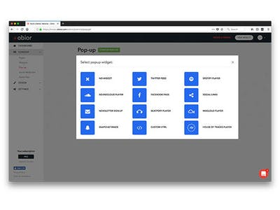 website building and hosting