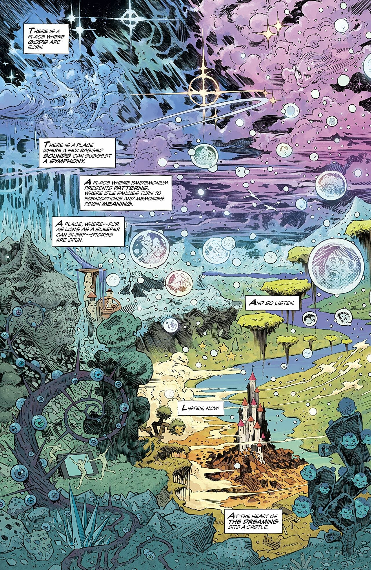 sandman universe comic