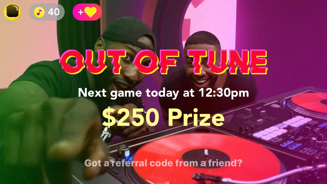 Out of Tune grand prize
