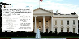 Comedy writer Keaton Patti wrote a parody script of a White House briefing—and it's more honest than the real thing.,