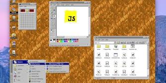 You can download Windows 95 as a desktop app