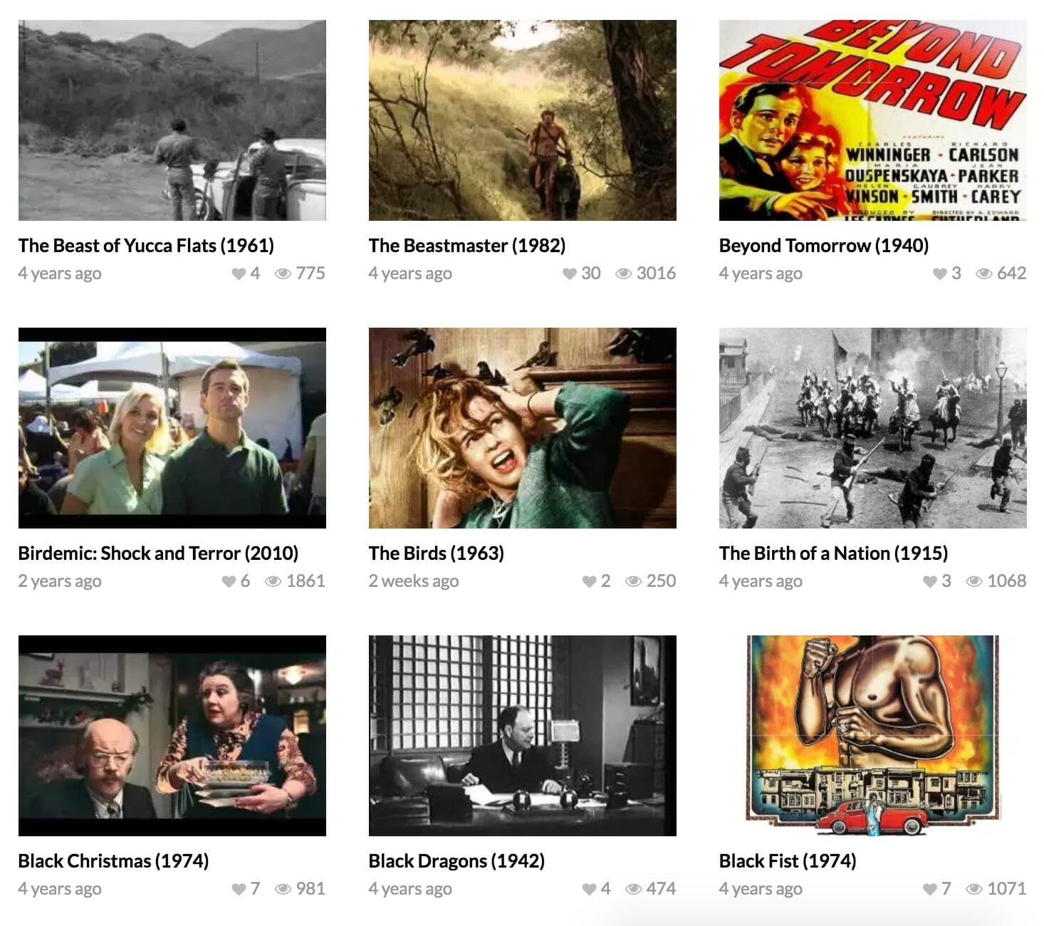 youtube free movies - foundmoviesonline