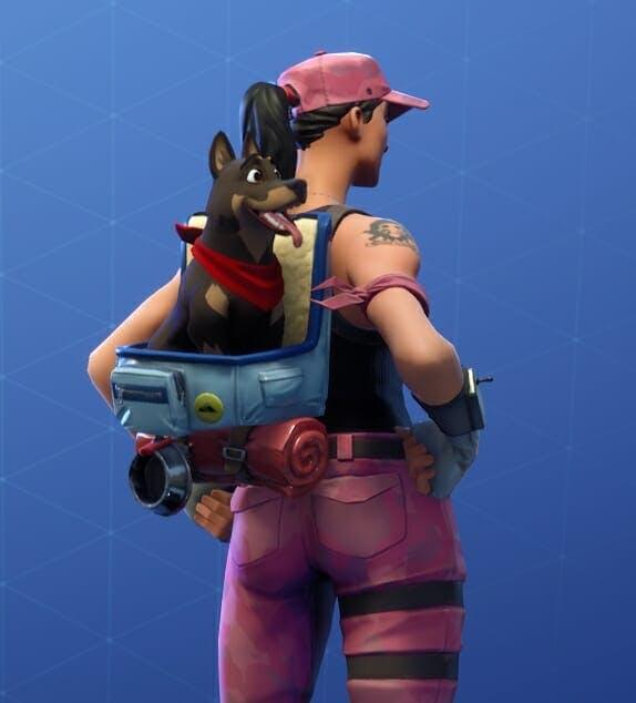Bonesy's Mocha skin looks exactly like a German Shepard. Pupper!