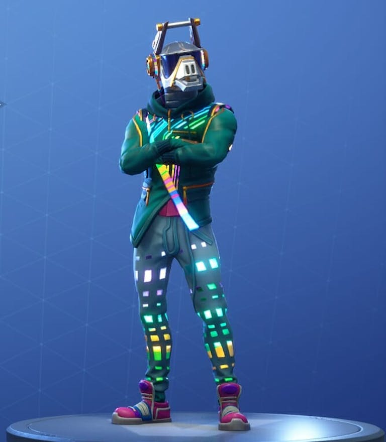 Fortnite season 6 new skins: DJ Yonder is one of the first skins players can unlock in Fortnite: Battle Royale.