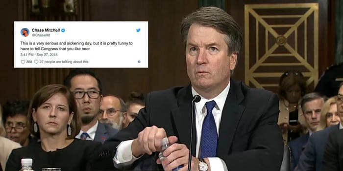 brett kavanaugh beer memes