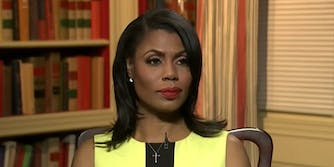 Omarosa Manigault-Newman said on Sunday that staffers in President Donald Trump's administration used a hashtag to refer to them using the 25th Amendment.