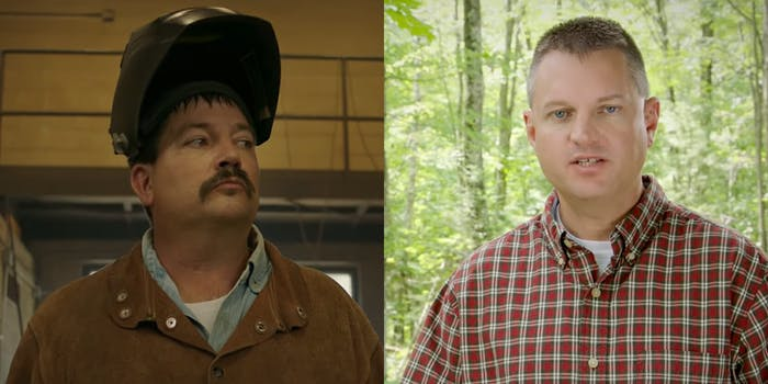 The brother of Randy Bryce, the Democrat looking to take Rep. Paul Ryan's (R-Wis.) seat in Congress this Novemeber, starred in an ad attacking him.