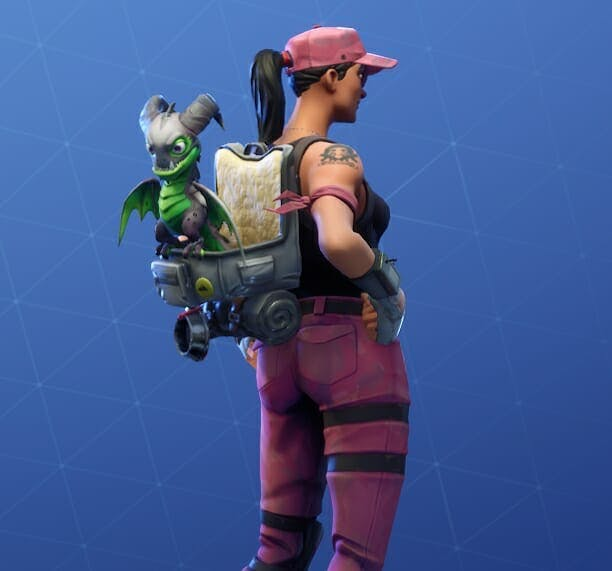 Scales' Black reptile skin is the most elite pet available. Only true Fortnite players can unlock it.