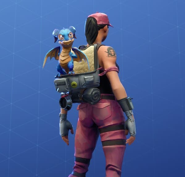 Scales is Fortnite's first unlockable dragon.