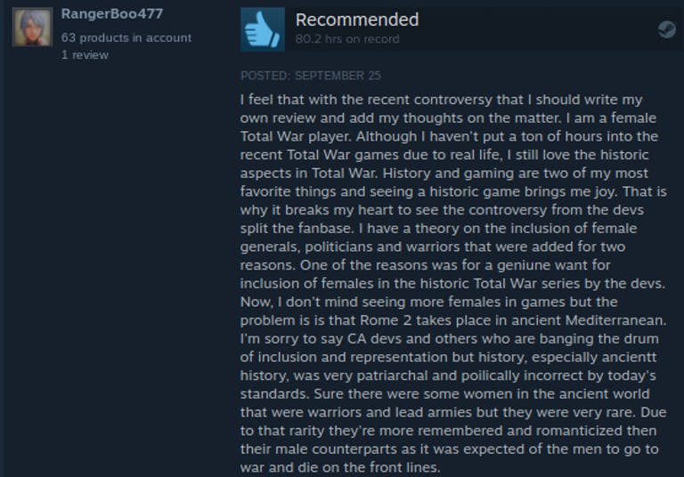 Total War: Rome II comments