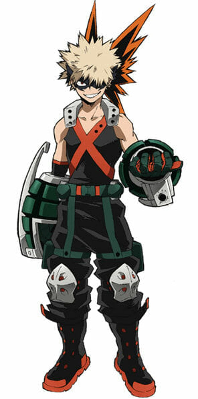 my hero academia characters : bakugo
