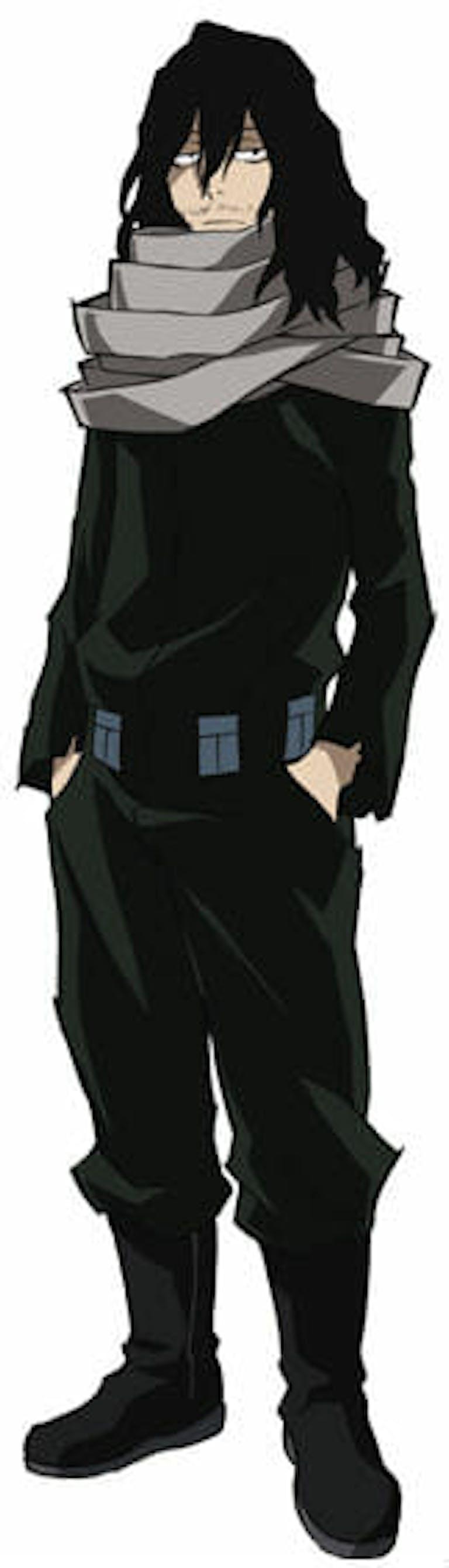 my hero academia characters : eraserhead