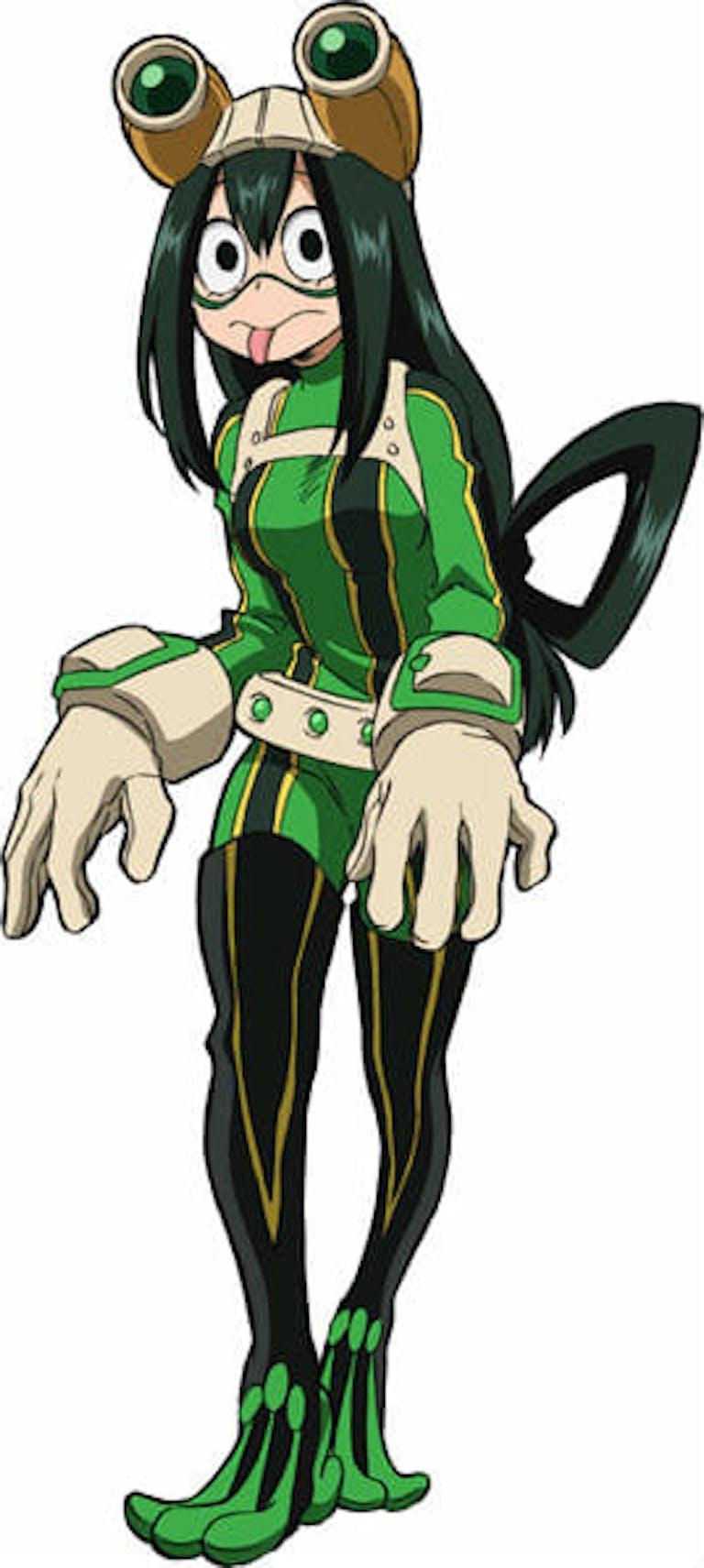 boku no hero academia characters : tsuyu