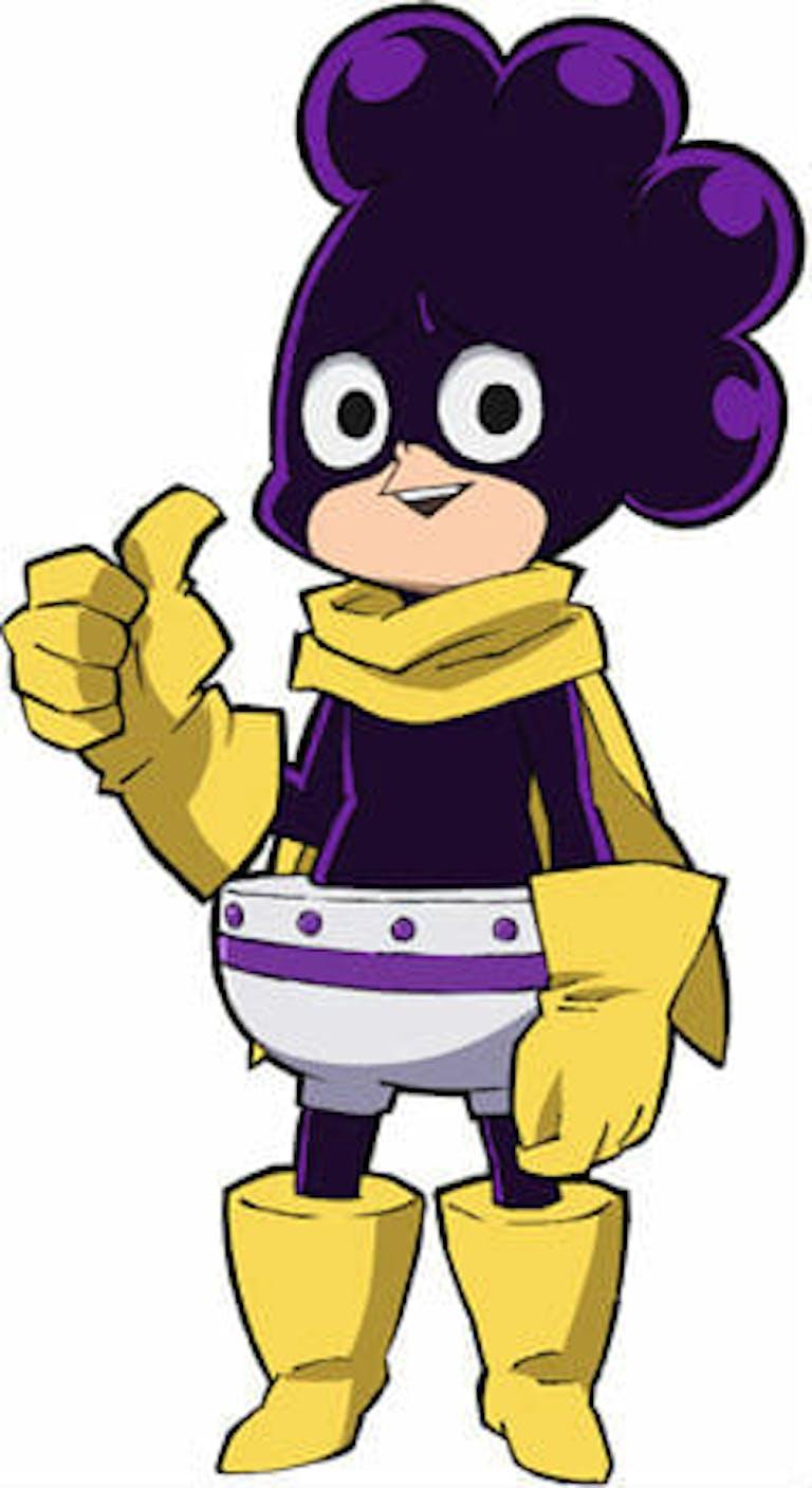 hero academia characters : mineta