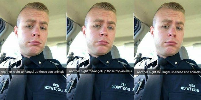 Detroit police officer fired for racist Snapchat selfie