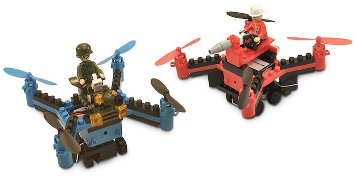 building block drones