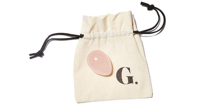 goop rose quartz egg