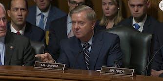 Personal information for three Republican senators circulated online during Brett Kavanaugh's testimony before the Senate Judiciary Committee.
