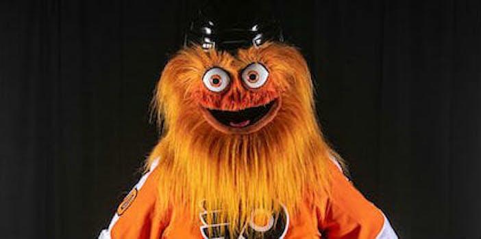 gritty mascot