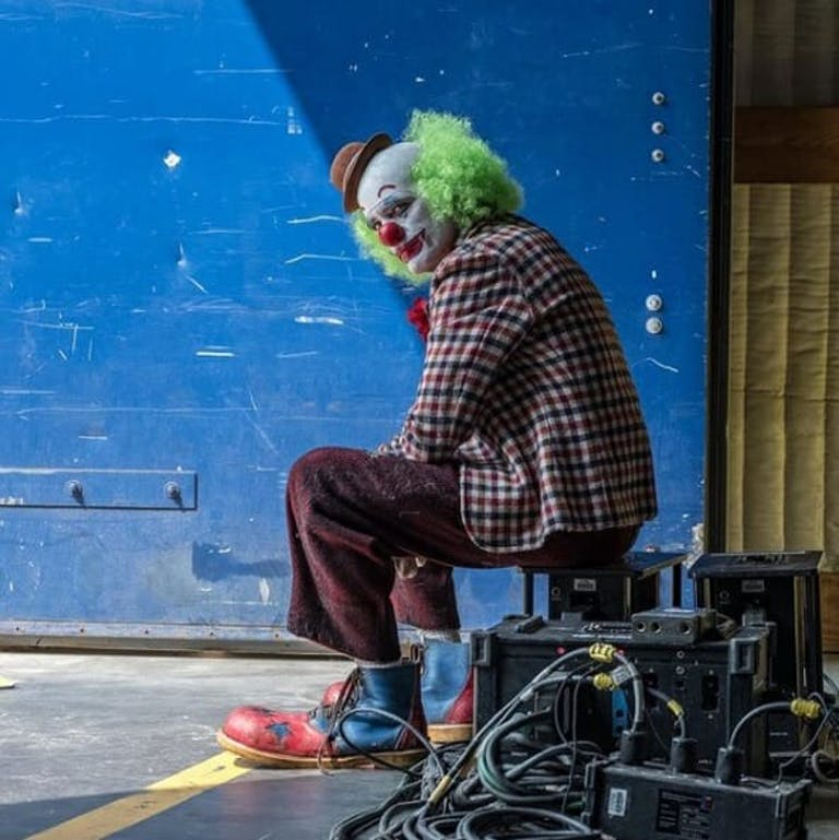 joker movie clown